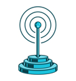 Wireless Network icon vector image