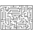 kids riddle maze puzzle labyrinth vector image
