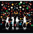 girls band vector image