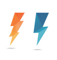 Lightning icon abstract vector image vector image