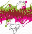 Colorful splattered web design repeat pattern art vector image