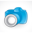 camera and lens vector image vector image