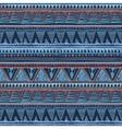 Ethnic boho seamless pattern Tribal art aztec vector image