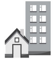 houses icon vector image