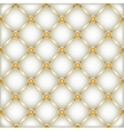golden white leather furniture texture vector image