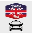 Taxi design cab concept transportation icon vector image