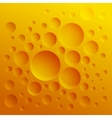Abstract background with yellow circles vector image