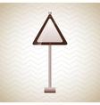 traffic sign design vector image