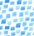 Blue Watercolor Patterned Background vector image