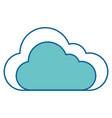 cloud icon image vector image