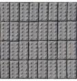 Cobblestone pavement texture vector image
