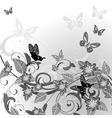 summer flowering vector image
