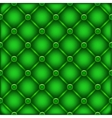 green leather furniture texture vector image