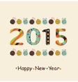 New Year 2015 Background vector image