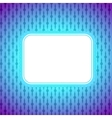 Square artistic banner colorful lighting vector image