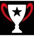 Trophy icon from Competition Success Bicolor vector image