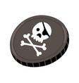 pirate black mark icon vector image