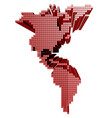 america map vector image