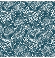 curles pattern vector image