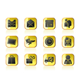 correspondence and Office Icons vector image vector image