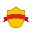 badge modern icon flat style vector image