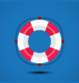 life buoy icon vector image