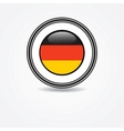 Label Germany flag in rubber stamp vector image