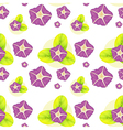 A background with violet flowers vector image vector image