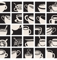 collection Coffee and Tea cup vector image vector image