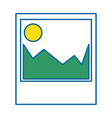 picture icon image vector image