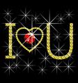 love concept diamond vector image vector image