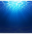 Abstract Underwater background with vector image