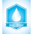 natural water vector image vector image