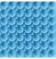 Blue circle bubbles design vector image