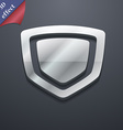 shield icon symbol 3D style Trendy modern design vector image