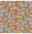 town concept background pattern seamless vector image