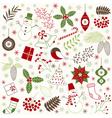 Christmas Time Set vector image