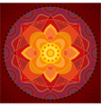 indian style ornament vector image