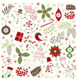 Christmas Time Set vector image