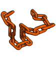 Rust Chain vector image