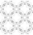Circle cross gray abstract seamless pattern vector image
