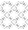 Circle cross gray abstract seamless pattern vector image