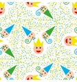 Seamless party pattern composed vector image
