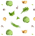 Fresh Vegetables Seamless Pattern vector image vector image