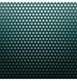 metal grid blue light background vector image