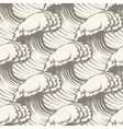 Hand Drawn Wave Seamless pattern vector image vector image