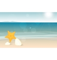 Travel and holiday landscape long banner with vector image
