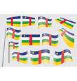 flag of Central African Republic vector image vector image
