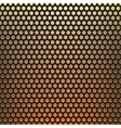 metal grid fire background vector image vector image