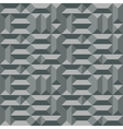 Seamless geometric architectural pattern Convex vector image